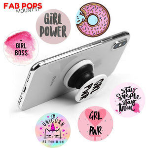 Fab Cellular Fab Pops Fab Pops Clemson Tigers Holder Grip Socket For Smartphones And Tablets