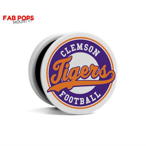 Fab Cellular Fab Pops Option 2 Fab Pops Clemson Tigers Holder Grip Socket For Smartphones And Tablets