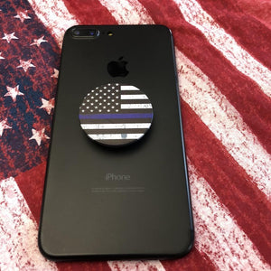 Fab Cellular LLC Fab pops socket grip Fab Pops Grip it Mount It Wrap it Socket for Smartphones and Tablets Police Flag