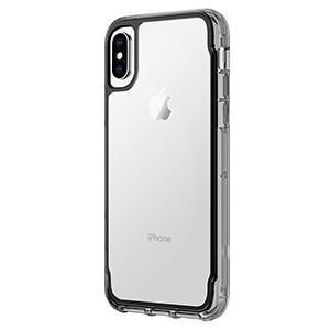 Fab Cellular LLC Phone Case Griffin Ultra Slim Survivor Drop Protection Case For Apple iPhone X 10 Black Clear