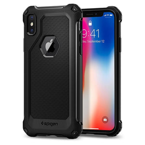 Fab Cellular LLC PHONE CASE Spigen Rugged Extra Armor Case for Apple iPhone X 10 Black