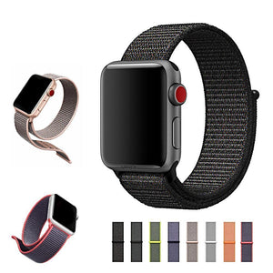 Fab Gear Apple Watch Band Fab Gear Sport loop Band For Apple Watch series Soft Breathable Nylon