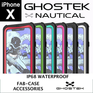 Ghostek Iphone x waterproof case ip68 Ghostek Nautical Waterproof Drop impact ip68 Rugged Case for apple iPhone X 10