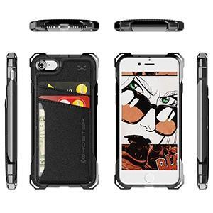 Ghostek phone case for iphone 7 iphone 8 Ghostek Exec Shockproof Credit Card Wallet Case For iPhone 7 iPhone 8
