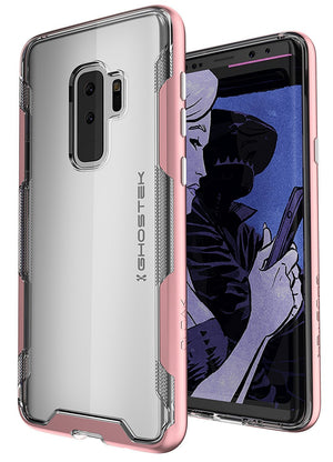 Ghostek PHone Case for Samsung Galaxy S9 Plus Pink Ghostek Cloak Clear Back Case For Samsung Galaxy S9 Plus