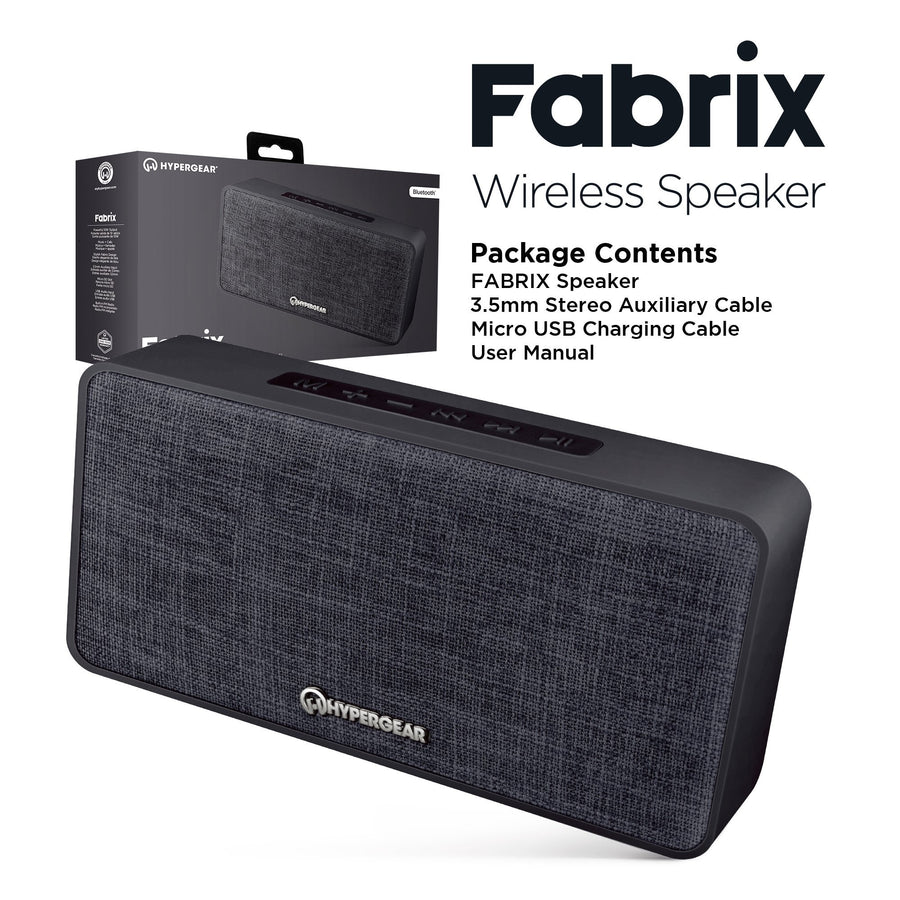 HyperGear General Default Title FABRIX Wireless Speaker