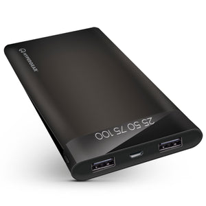 HyperGear General Default Title Dual USB Portable Battery Pack with Digital Battery Indicator