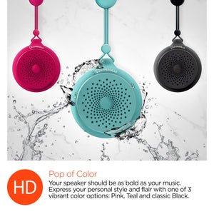HyperGear wireless bluetooth speaker HyperGear Splash Water Resistant Wireless Speaker