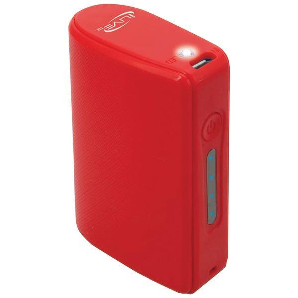 Ilive Portable & Personal Electronics Default Title ILIVE IPC525R 5,200mAh Portable Charger (Red)