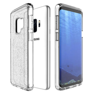 Prodigee Phone Case For Galaxy S9 S9 plus For Galaxy S9 / Clear Prodigee Super Star Bling Clear Phone Case For Galaxy S9 S9 Plus