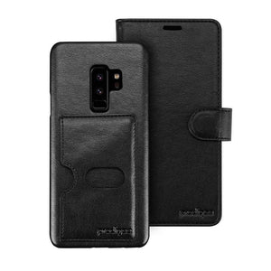 Prodigee Wallet Case for Samsung Galaxy S9 plus Prodigee Wallagee 2 In 1 Wallet Case For Samsung Galaxy S9 Plus Black