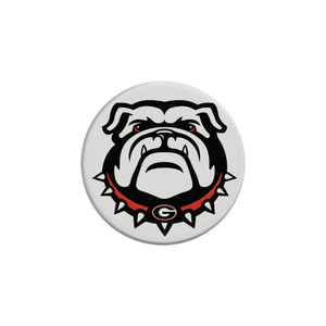 Snaprinting Pop Socket White Georgia Bulldogs Pop Stand Grip Socket For iPhone Or Galaxy Phones