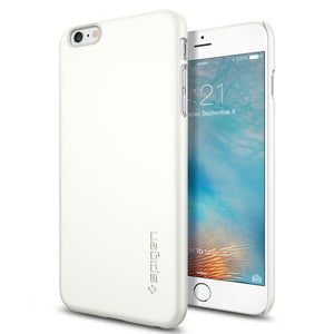 Spigen Cell Phones & Accessories Spigen Thin Slim Hard Protective Case Cover for iPhone 6/6s (Shimmery White)