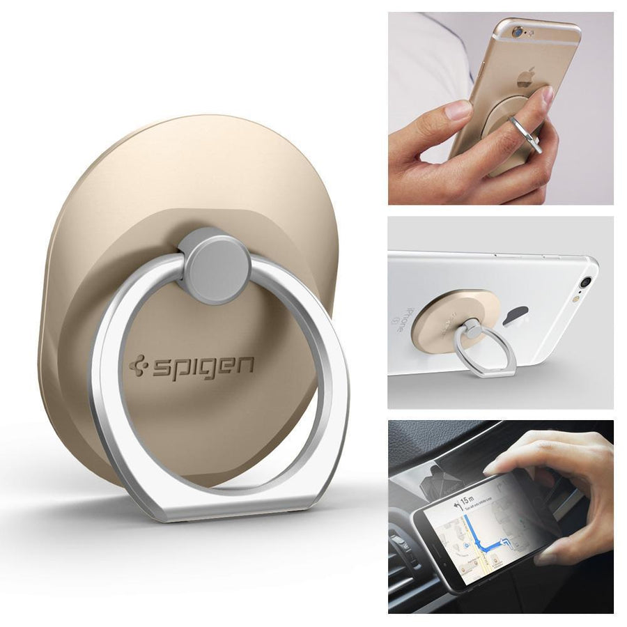 Spigen(r) Ring Style Holder Spigen Ring Style Phone Mount Stand Holder CHAMPAGNE GOLD