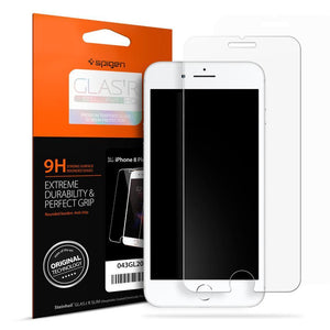 Spigen Screen Protector Spigen For Apple iPhone 7 8 Screen Protector GLAS.tR SLIM HD