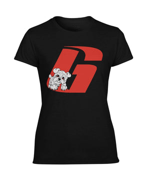 ViralStyle Ladies Tees Black / S / Women's Performance Tee Georgia Bulldogs Woman's T-Shirt