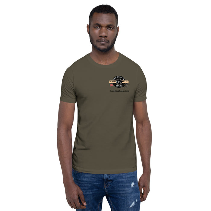Short-Sleeve Unisex Beard Mail T-Shirt