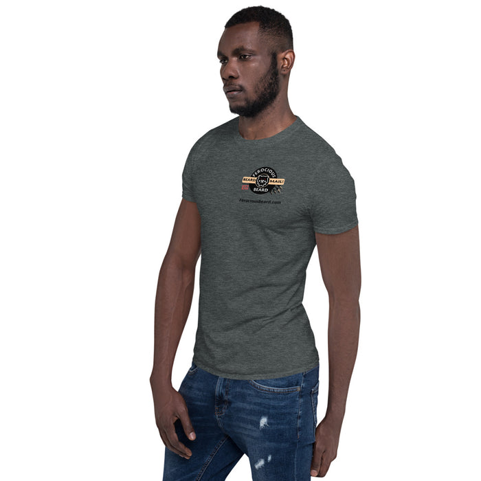 Short-Sleeve Unisex Beard Mail T-Shirt (Thicker)