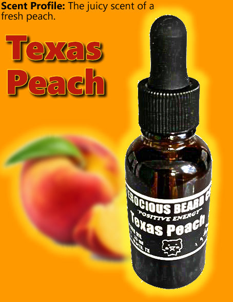 Texas Peach Beard Oil