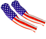 Thermal Arm Warmers, American Flag (2 Sleeves)