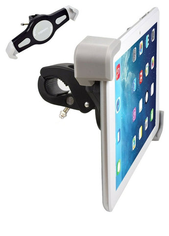 Tablet Mount for Exercise Bikes, Expanding Style