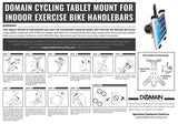 Tablet Mount for Exercise Bikes