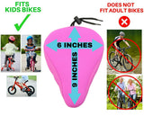 "Bike Gel Seat Cushion 9""x6"" (Small Size for Children's Bikes)"