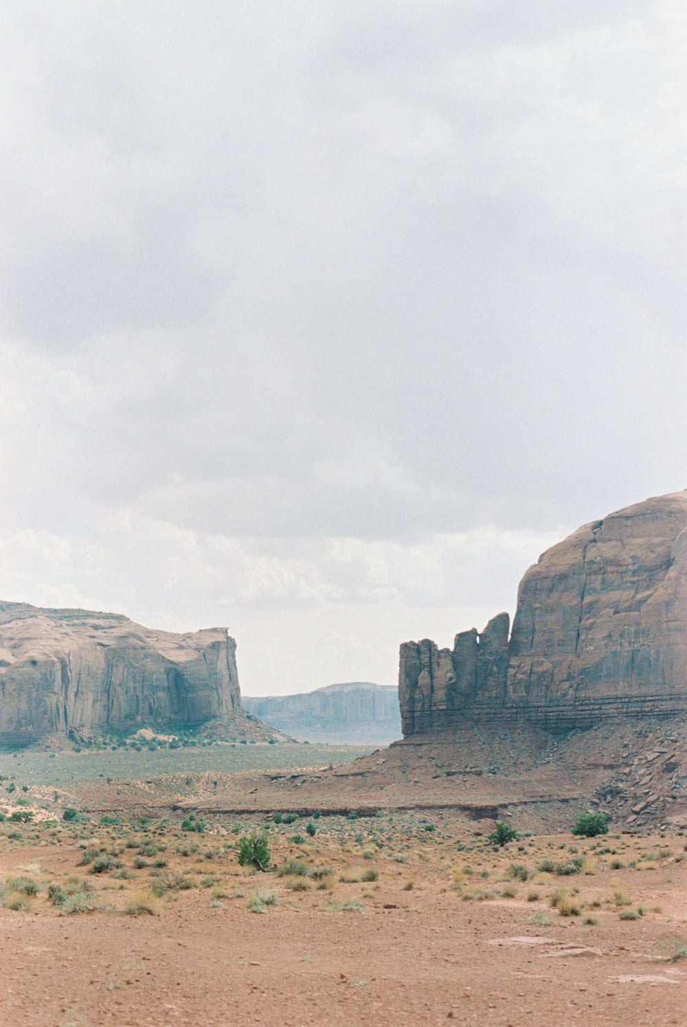Monument Valley Buttes Portrait