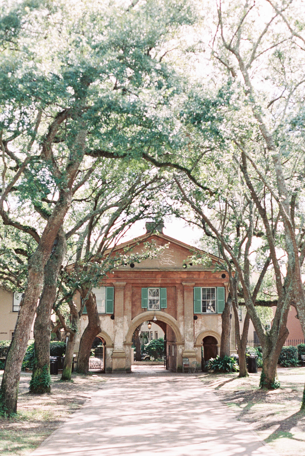 Library Courtyard