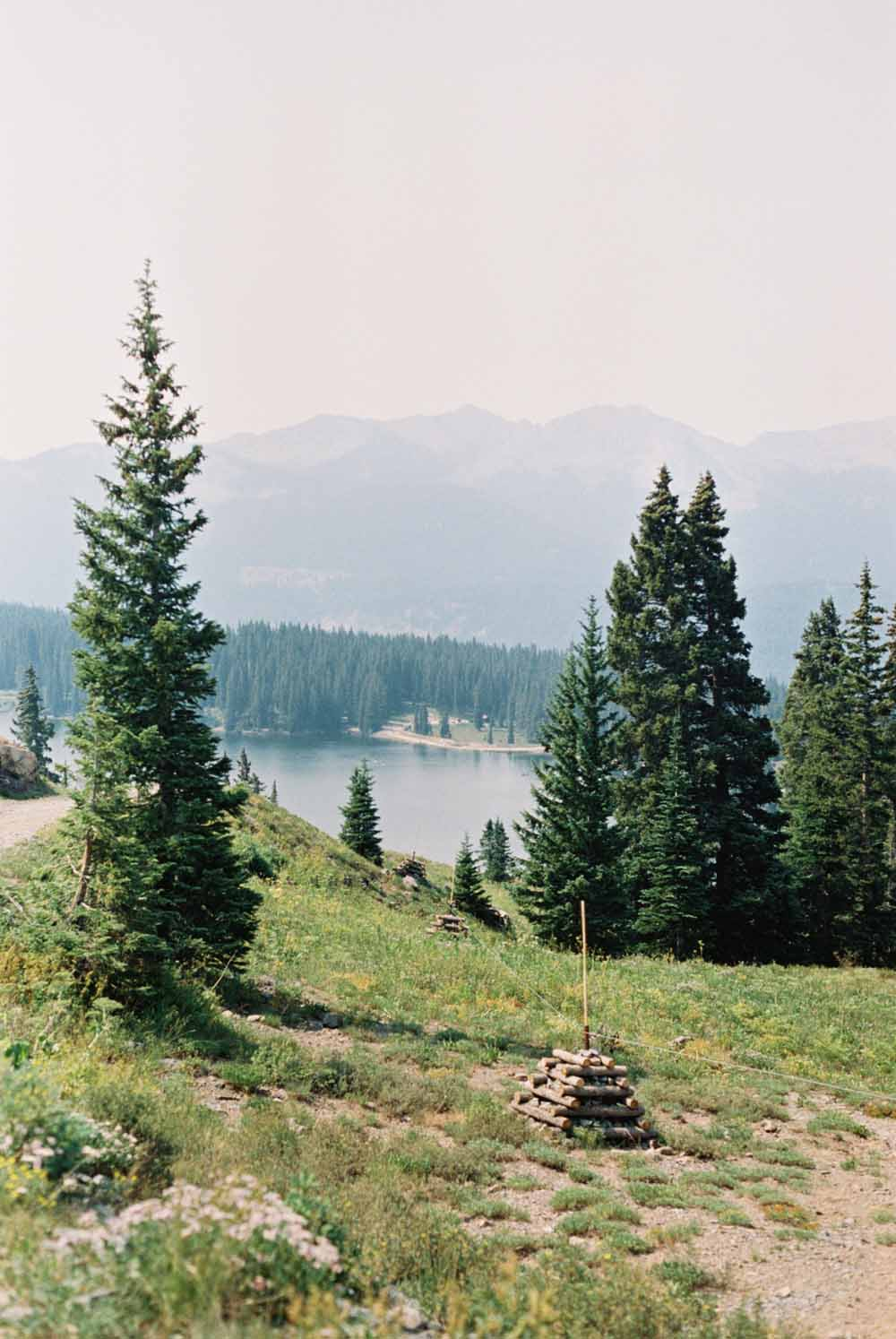 View of Lake Irwin