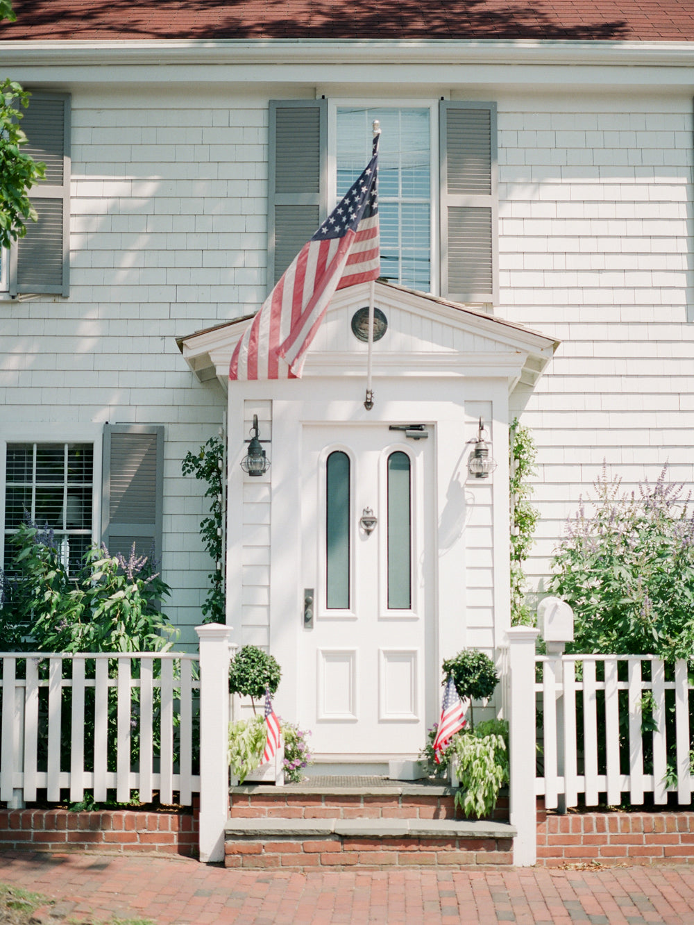 Front Door in Nantucket