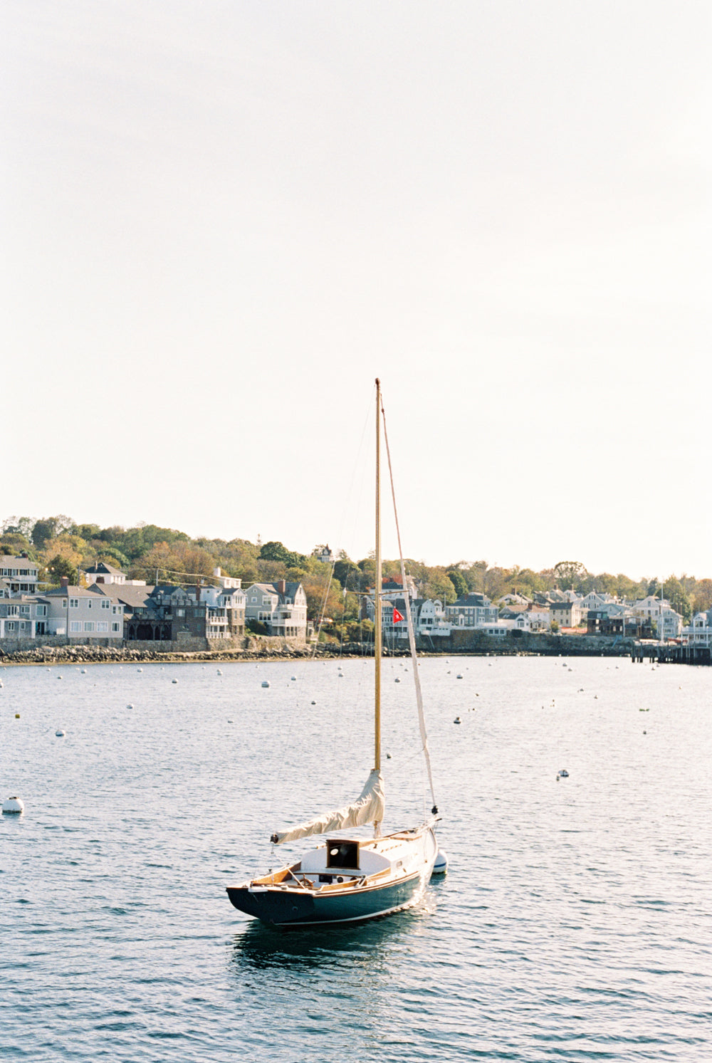 Sailboat in Rockport