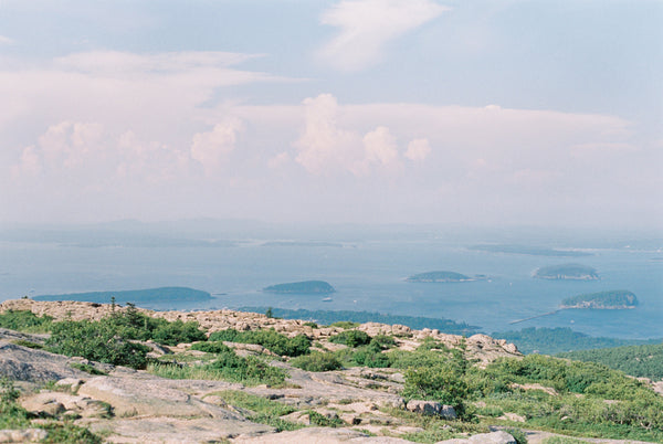 Landscape View from Cadillac Mountain