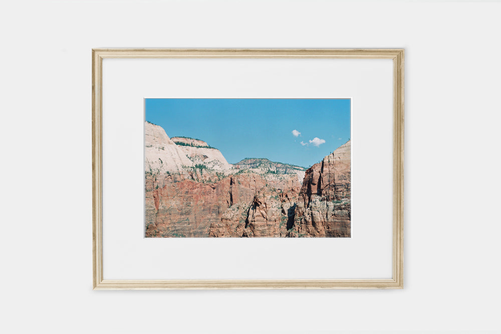 Zion Cliffs Landscape