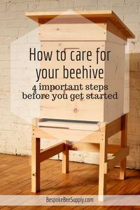 How to care for a sugar pine beehive
