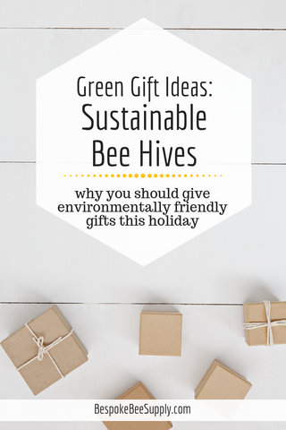 Environmentally friendly gift guide: Why sustainable bee hives are a green gift this holiday. To & Fro Fam