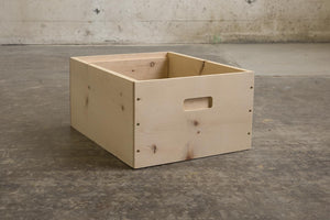 Pine Deep Boxes for Sale