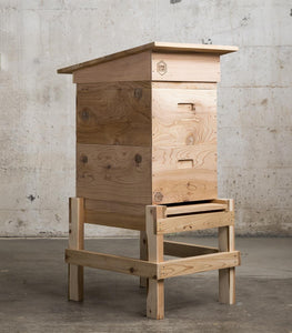 WEDGE LANGSTROTH HIVE - WESTERN RED CEDAR