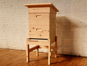 WEDGE LANGSTROTH HIVE INTEGRATED STAND