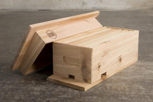 Cedar Medium Bait Box for Bees