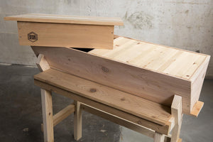 Western Red Cedar Top Bar Hive Available Now