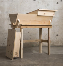 Two Roof Top Bar Hive with Stand