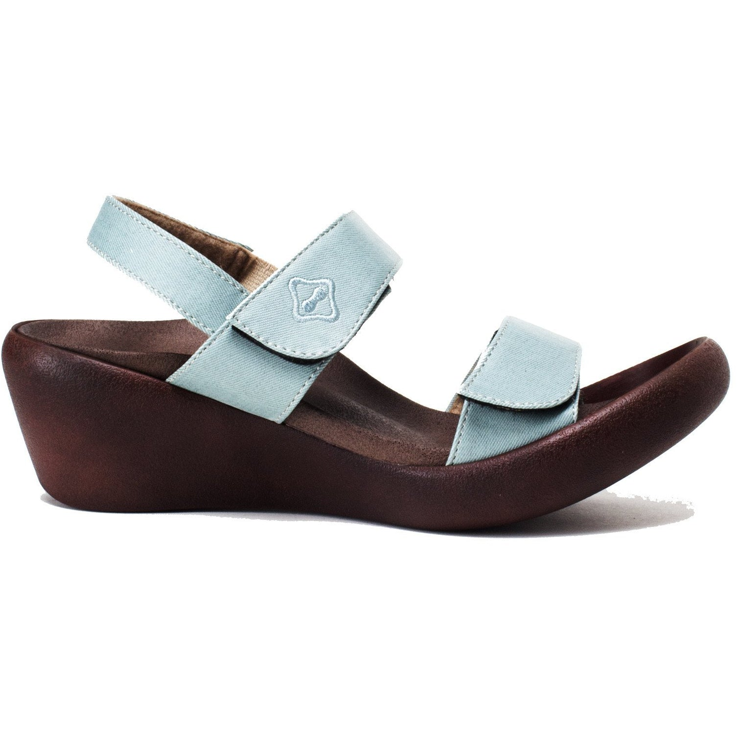 RegettaCanoe Women's Low Wedge Clover Sandals