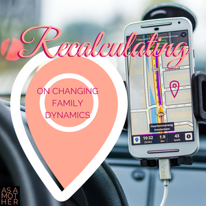 Recalculating: On Changing Family Dynamics