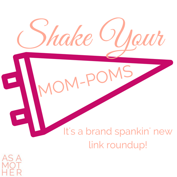 Shake your mom-poms! It's a brand spankin' new link roundup!