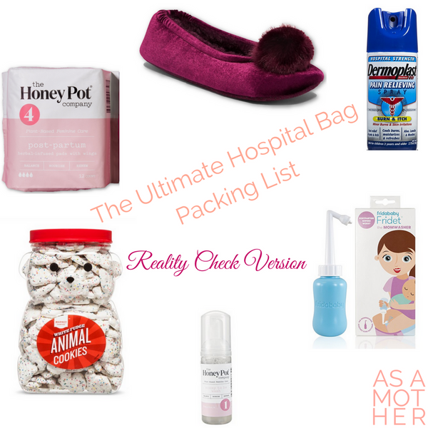 The Ultimate Hospital Bag Packing List [Reality Check Version]