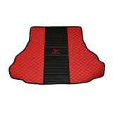 Ford Mustang Premium Custom Leather Floor Mats W/ Carpeted Liners