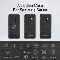 Alcantara Case For Samsung Phones S8 S9 S10
