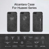 Alcantara Premium Case for Huawei P10 Plus, P20, Mate 10 Pro, Mate 9 Pro, Custom