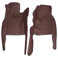 Mazda MX-5 Premium Custom Leather Floor Mats W/ Carpeted Liners